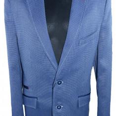 Sacou elegant pentru baieti-JANKE JKES6-A, Albastru