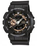 Ceas Sport Casio g shock GA110 RG ,GOLD-black- matte,ORIGINAL 100%, Quartz