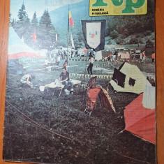 romania pitoreasca octombrie 1988-art. si foto buzias,slanic prahova