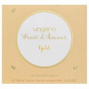 Emanuel Ungaro Fruit d'Amour Gold Eau de Toilette pentru femei 100 ml