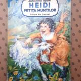 HEIDI FETITA MUNTILOR  × JOHANNA SPYRI