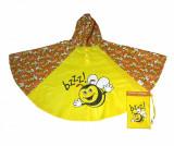 Pelerina poncho de ploaie copii Bee
