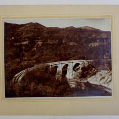 POD DE CALE FERATA , FOTOGRAFIE de ALEX PETIT - ARCHITECTE , PERIOADA INTERBELICA