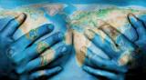 Harta Lumea fizica plus cadou