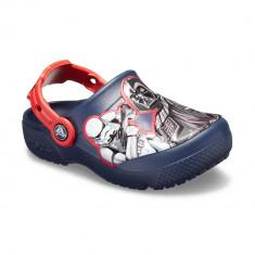 Saboți Copii casual Crocs Crocs Fun Lab Star Wars Dark Side Clog, 27.5, 30.5, Albastru