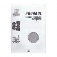 Anuarul Muzeului Etnografic al Moldovei V