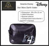 In STOC! Geanta Disney Star Wars - 100% Originala - Dimensiuni 38 x 29 x 11 cm, Geanta tip postas, Negru, Asemanator piele