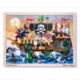 Puzzle de Lemn Aventura Piratilor, Melissa & Doug
