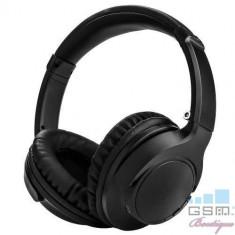 Casti Wireless Bluetooth iPhone Samsung Huawei LG Nokia Negre