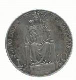 AMS - MONEDA 10 L. 1930 PIUS XI