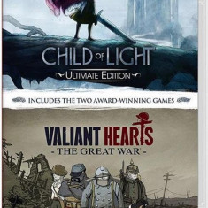 Child Of Light & Valiant Hearts Double Pack Nintendo Switch