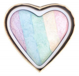 Iluminator Makeup Revolution I Heart Makeup a Rainbow Highlighter made by unicorns Unicorns Heart