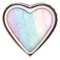 Iluminator Makeup Revolution I Heart Makeup a Rainbow Highlighter made by unicorns Unicorns Heart