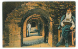395 - ADA-KALEH, Catacombele, Romania - old postcard - unused, Necirculata, Printata