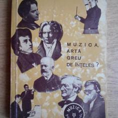GEORGE BALAN - MUZICA ARTA GREU DE INTELES ?