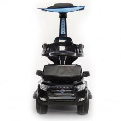 Carut electric pentru plimbat copii 3 in 1 Ford Ranger 1x 25W 6V #Negru