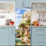 Sticker Tapet Autoadeziv pentru frigider, 210 x 90 cm, KM-FRIDGE-60