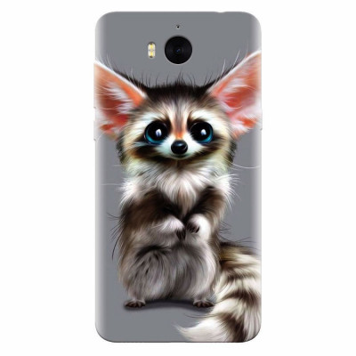 Husa silicon pentru Huawei Y6 2017, Cute Animal 001 foto