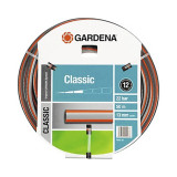 Furtun universal Gardena, 20 m, 1/2 inch, 22 bar, PVC, Albastru/Gri, General