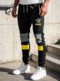 Pantaloni de trening negri Bolf K10010