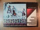 MODELE DE BRODERIE PENTRU ORNAMENTATIE INTERIOARA de ELVIRA ZAMFIRESCU-TALIANU , 1975, COPERTI UZATE