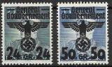 Ocupatia Germana in Polonia (General Gouvernement) 1940,  fara guma, Nestampilat
