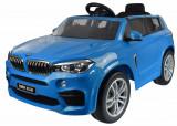 Cumpara ieftin Masinuta electrica SUV Premier BMW X5M, 12V, roti cauciuc EVA, scaun piele ecologica, albastru