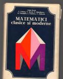 C9267 MATEMATICI CLASICE SI MODERNE - CAIUS IACOB, VOL.1, I
