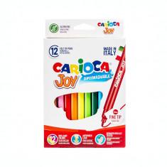 Set 12 culori Carioca Joy superlabavil SKR063