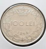 Romania 100 lei 1943 ^, Nichel