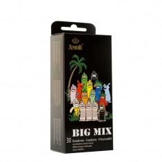 Set Prezervative AMOR Big Mix / 30 buc