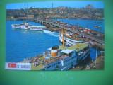 HOPCT 56864  PODUL GALATA -VAPOR -AUTOMOBIL - ISTANBUL TURCIA   NECIRCULATA