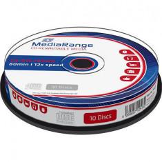 Mediu optic MediaRange CD-R 700MB 12x 10 bucati