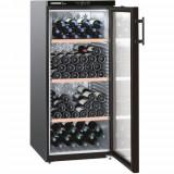 Vitrina frigorifica Liebherr Premium WKb 3212, 314 l, 4 rafturi, Negru