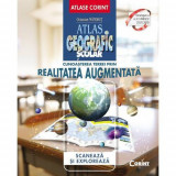 Atlas geografic scolar. Cunoasterea Terrei prin realitatea augmentata, Corint