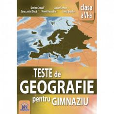Teste Geografie Cls a VI-a