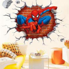 Sticker autocolant perete/mobila camera copii-spiderman/frozen/tren/fluture