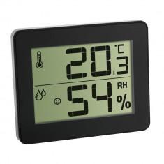 Pachet economic 3 x Termometru si Higrometru digital de camera extra-plat negru... foto