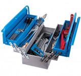 Trusa profesionala de scule pentru instalatori TSI in cutie metalica 911/5 ak2 , 43 buc, Unior
