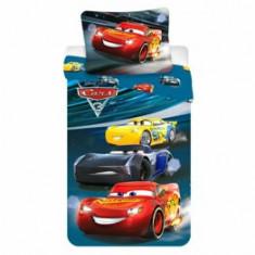 Lenjerie de pat pentru copii Disney Cars, 84-BEDB-03CA-SG, 140 x 200 cm
