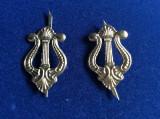 Insigne militare -Insigne România-Semne de armă- Muzică nouă (culoare argintie)