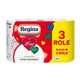 Prosop hartie Regina Love, 3 role, 3 straturi