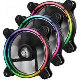 Ventilator pentru carcasa Enermax T.B. RGB LED Three Fan Pack