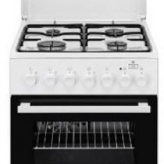 Aragaz mixt Electrolux EKK52950OW, 4 Arzatoare, Aprindere electrica, Grill, 50cm (Alb)
