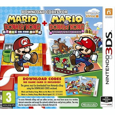 Mario and Donkey Kong Minis on the Move + Mario Vs Donkey Kong Minis March Again! 3DS