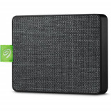 SSD Extern Seagate Ultra Touch 500GB, USB 3.0 tip C (Negru)