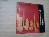 ARTIZANAT LEMN * Catalog - Editat de UCECOM, 24 p. cu figuri color, Alta editura