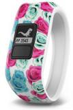 Bratara Fitness Garmin Vivofit Jr. Real Flower, Rezistenta la apa, Bluetooth (Multicolor)