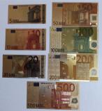Bancnote euro aur