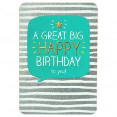 Felicitare - Great Big Happy Birthday   Pigment Productions